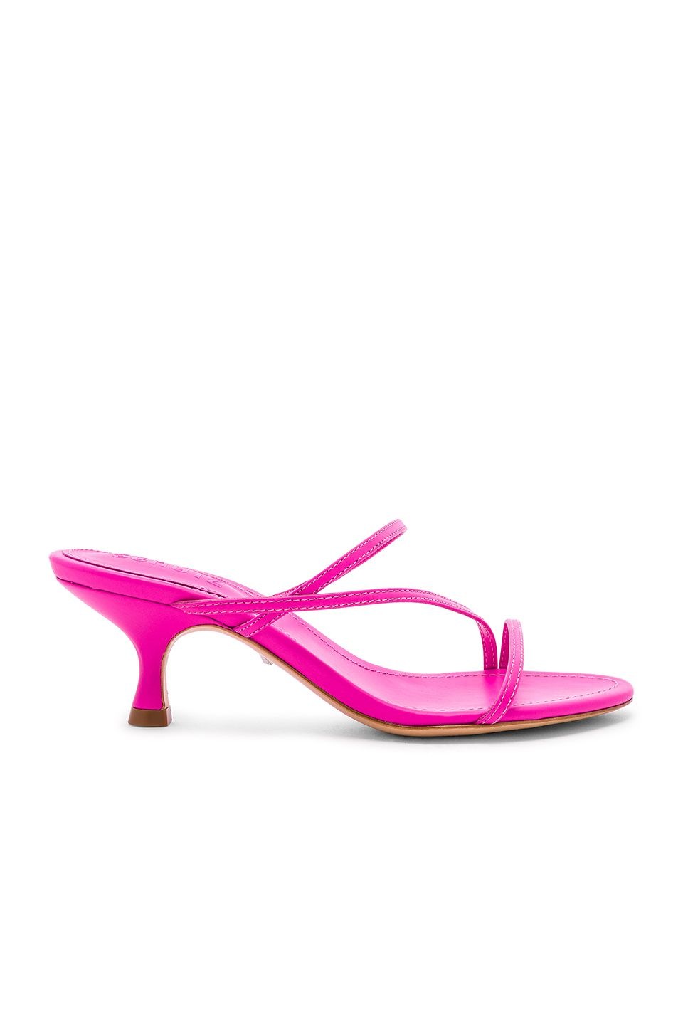 8c051b312 Schutz Evenise Sandal in Neon Pink | shoes in 2019 | Sandals, Shoes ...