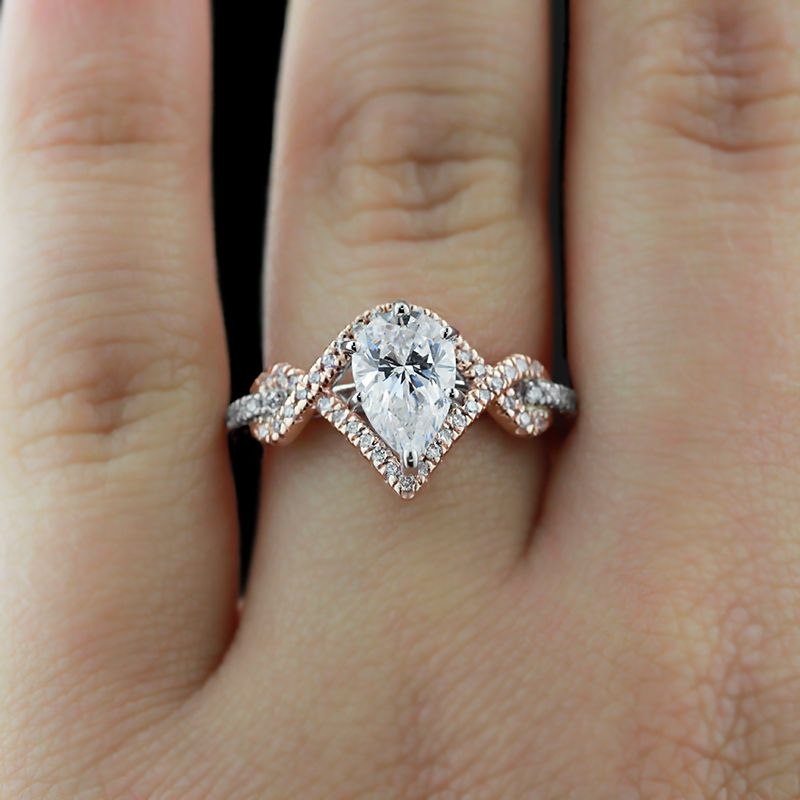 Savoy S Can Help You Pick Out The Perfect Two Toned Engagement