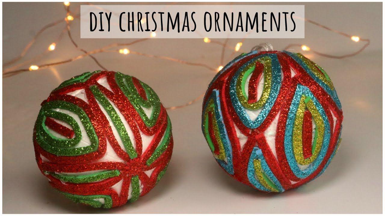 Homemade Christmas Ornaments Diy Christmas Decoration Ideas Glitter F Diy Christmas Ornaments Homemade Christmas Ornaments Diy Christmas Ornaments Homemade