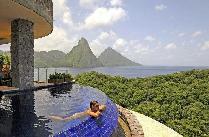 St. Lucia is beautiful!