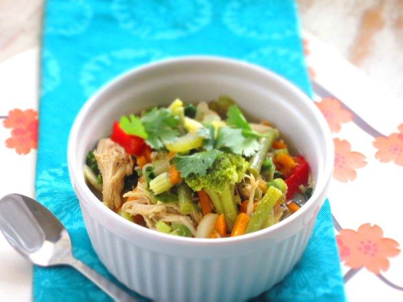 asian chicken soup 001