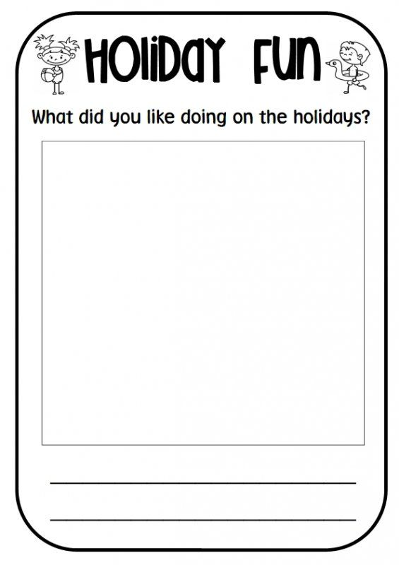 Use This Template For Students To Recount Their Favourite Event