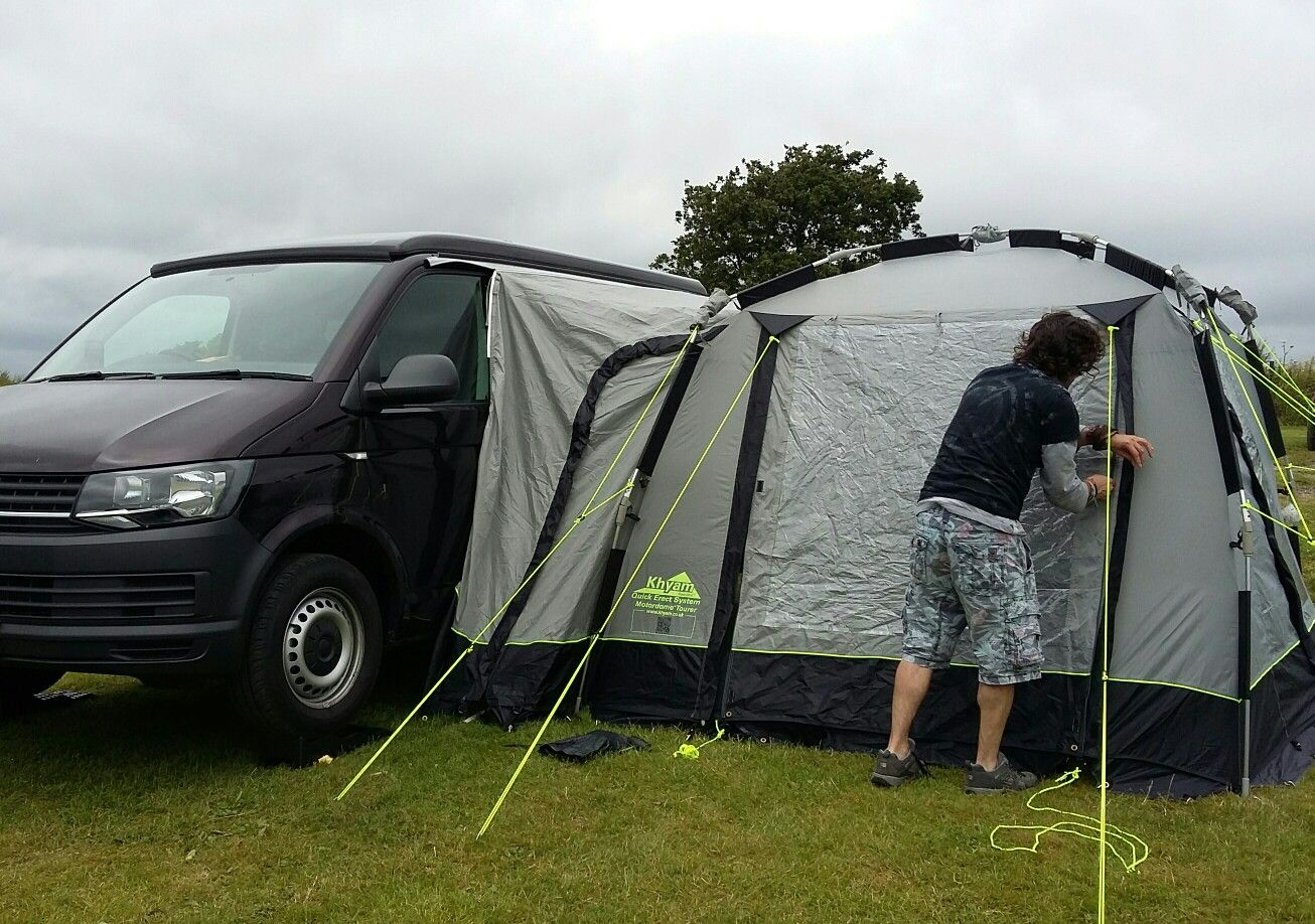 Drive Away Awning Sleeping Tent For The Boys Campervan Awnings