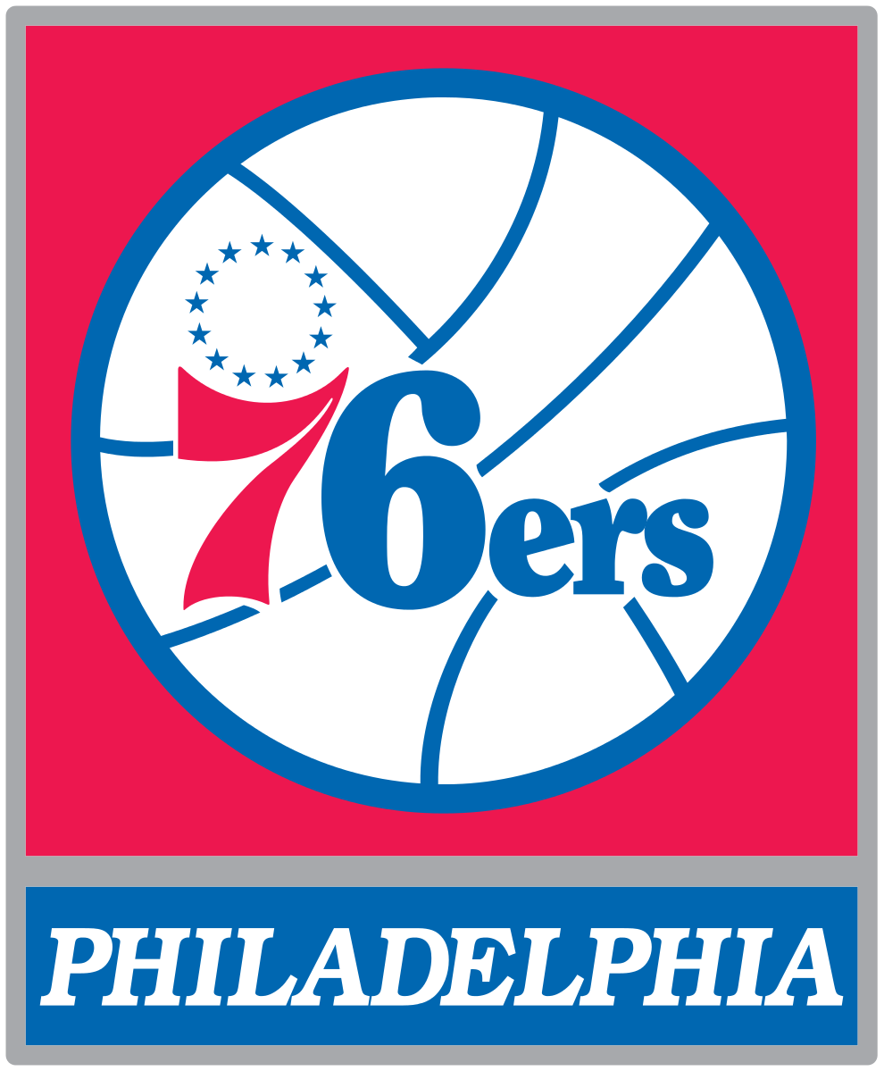 File Philadelphia 76ers Logo Svg Wikipedia The Free Encyclopedia Philadelphia 76ers 76ers Philadelphia Sports