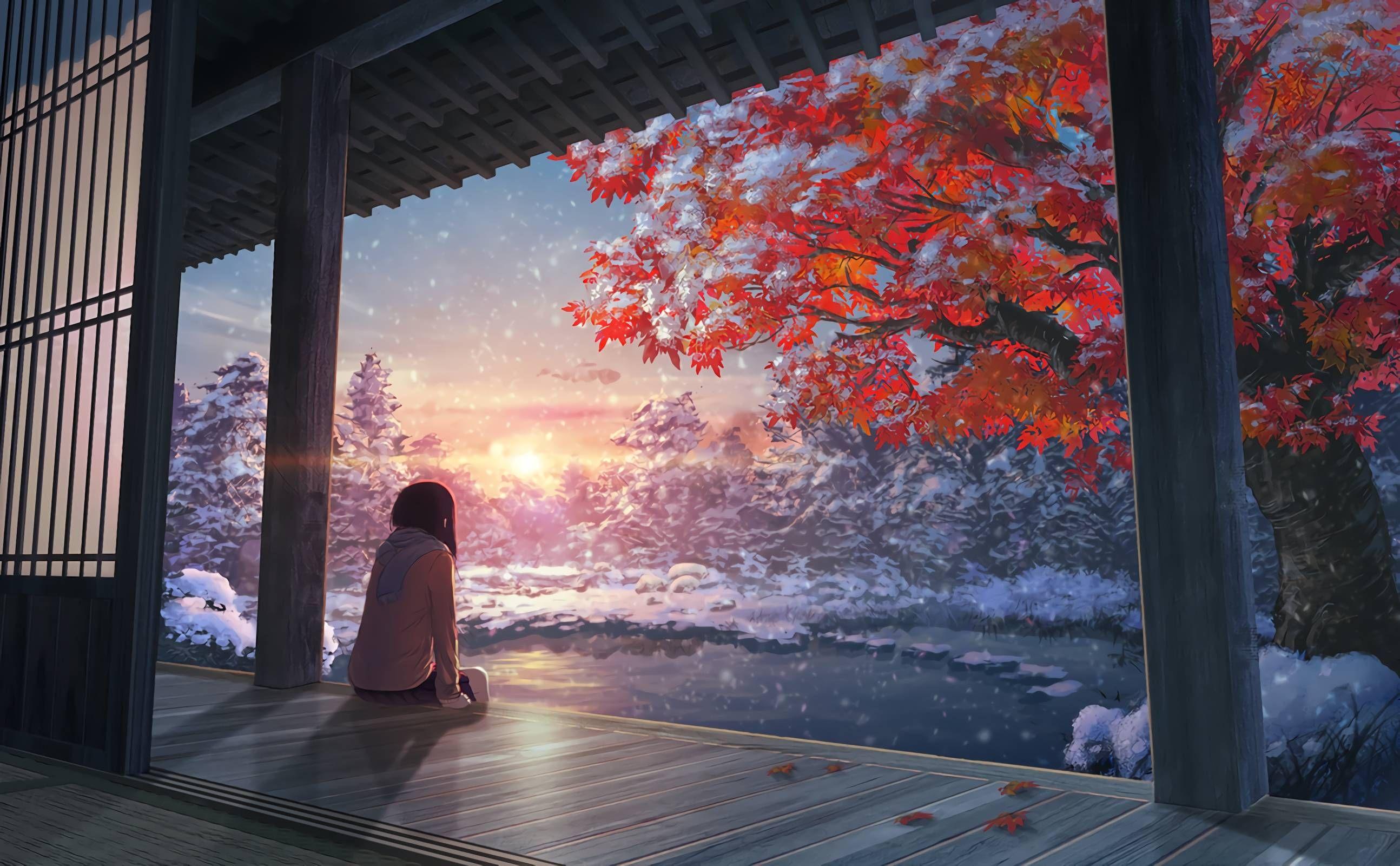ddatmsh Anime scenery wallpaper, Anime background, Anime