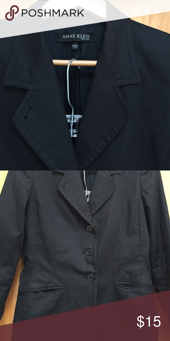 Anne Klein black label designer suit. Anne Klein black label suit.. Selling both jacket and pant. Pants are cropped.. Both can be worn as separates. Gently worn, but no visible signs Anne Klein Jackets & Coats Blazers