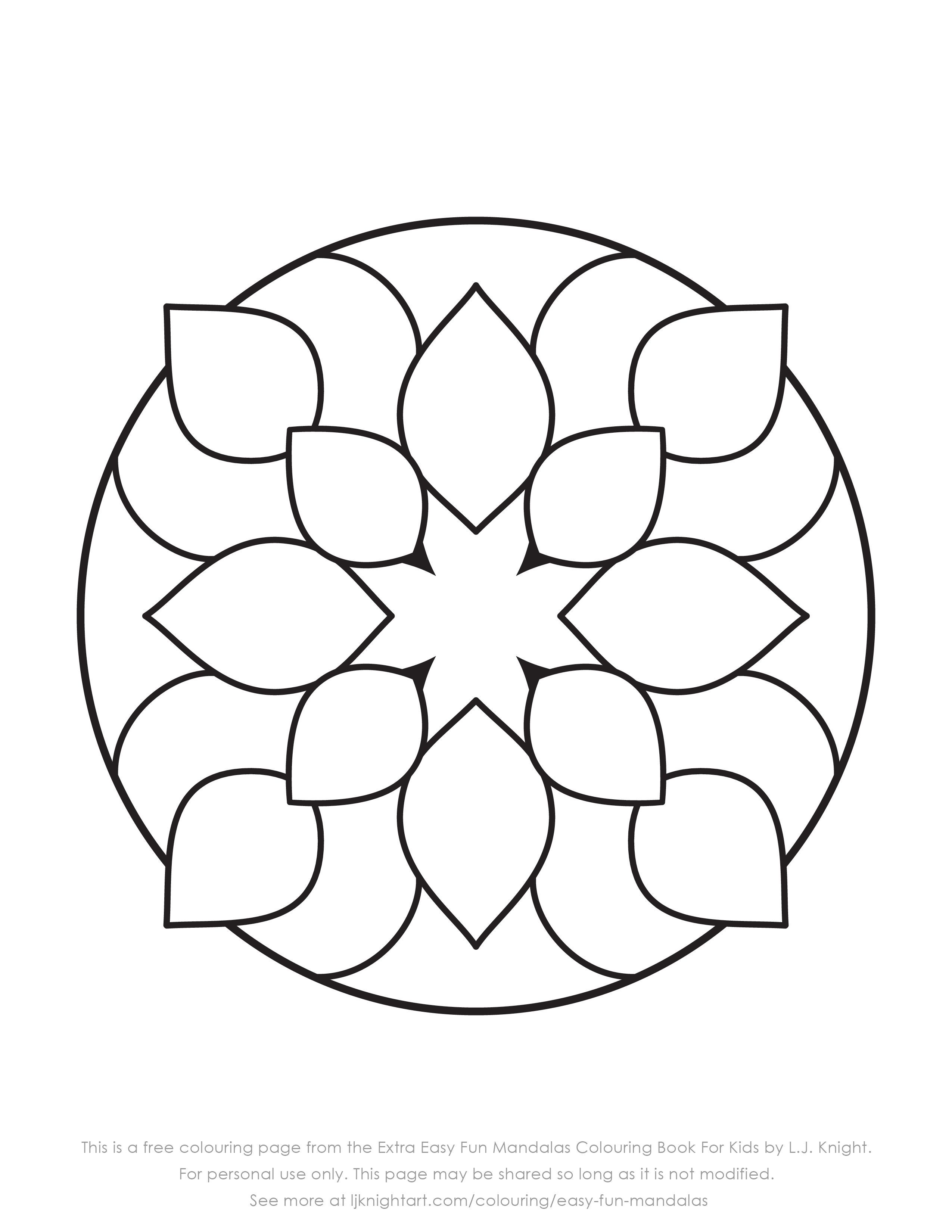 Mandala Coloring Book Pdf Free Coloring Pages Coloring Books Simple Mandala Pages Excelent Easy Boo Mandala Coloring Pages Mandala Coloring Fall Coloring Pages