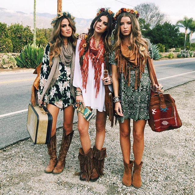 Boho Chic Bohemian Boho Style Hippy Hippie Chic Boh Me Vibe Gypsy Fashion Indie Folk The 70s