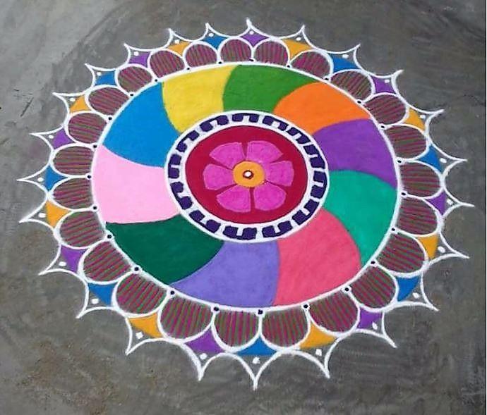 Image result for rangoli art