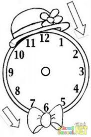 תוצאת תמונה עבור Okul öncesi Sanat Etkinliği Saat Yapımı
