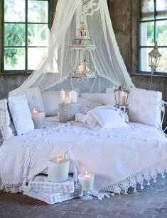 chambre style shabby chic shabby pinterest chic ete. Black Bedroom Furniture Sets. Home Design Ideas