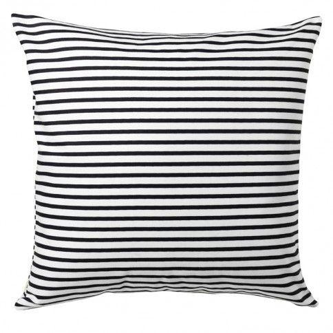 Sailor Charcoal Square Throw Pillow
