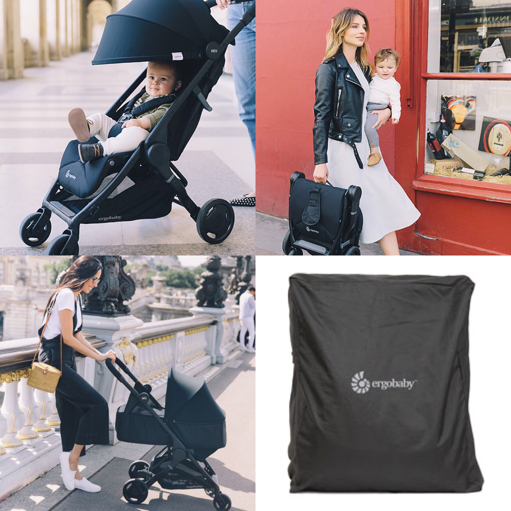 ERGOBABY METRO COMPACT CITY STROLLER, MY REVIEW. My