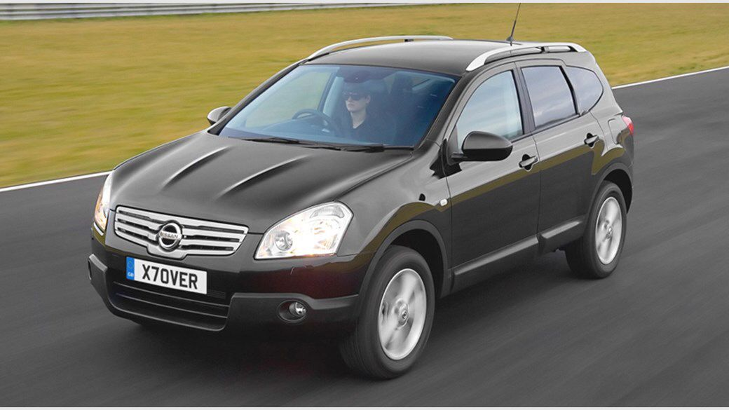 Nissan Qashqai available for rent with KION Rhodes Car