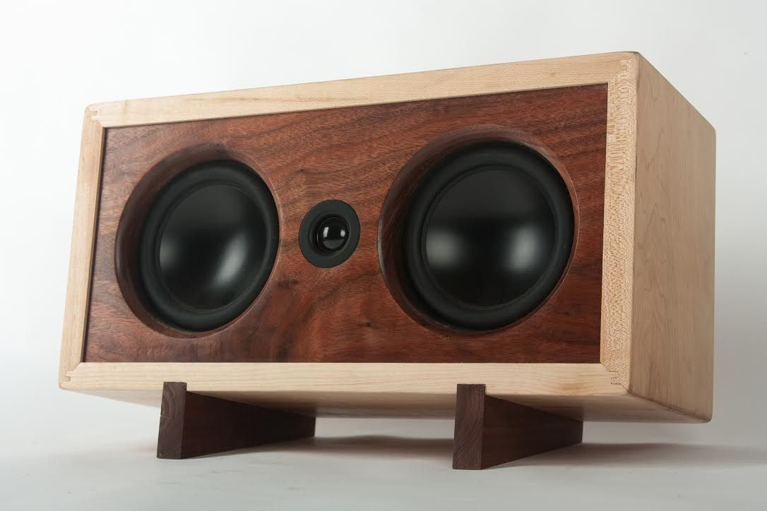 Hardwood Audio Diy Bluetooth Speaker Diy Speakers Bluetooth