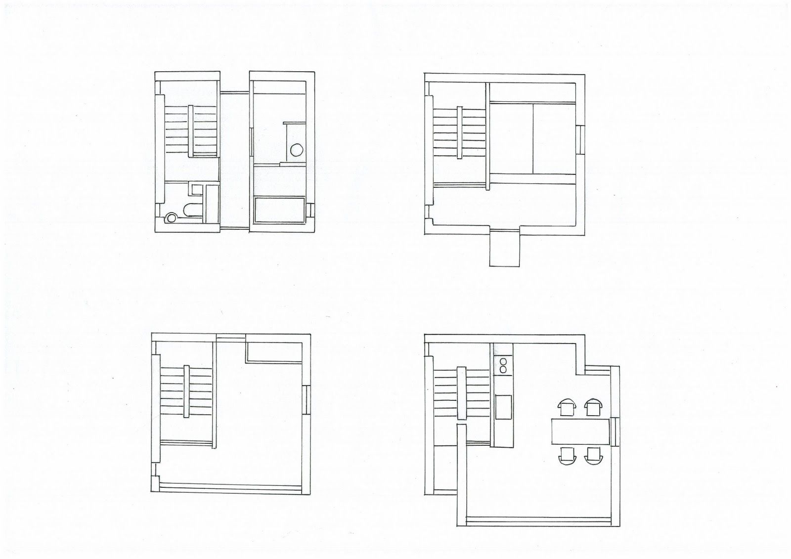 4x4 Tower House Tado Ando Floor Plan Tower House Innovative Architecture House