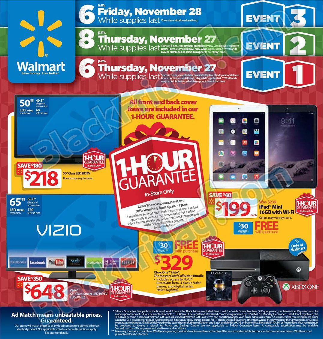 Walmart Black Friday 2014 Ad In 2020 Walmart Black Friday Ad Black Friday Ads Black Friday