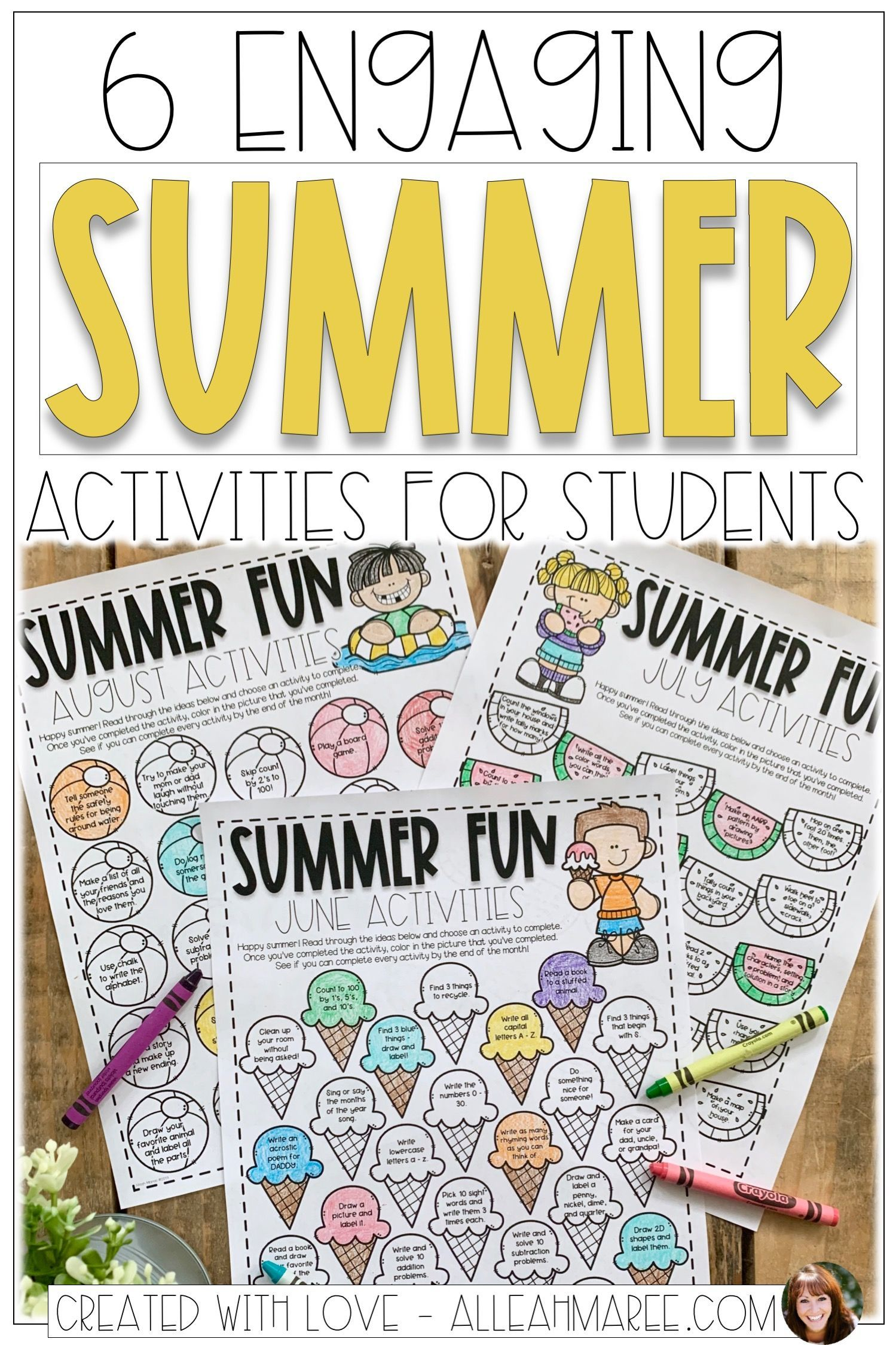 6 Engaging Summer Activities For Students