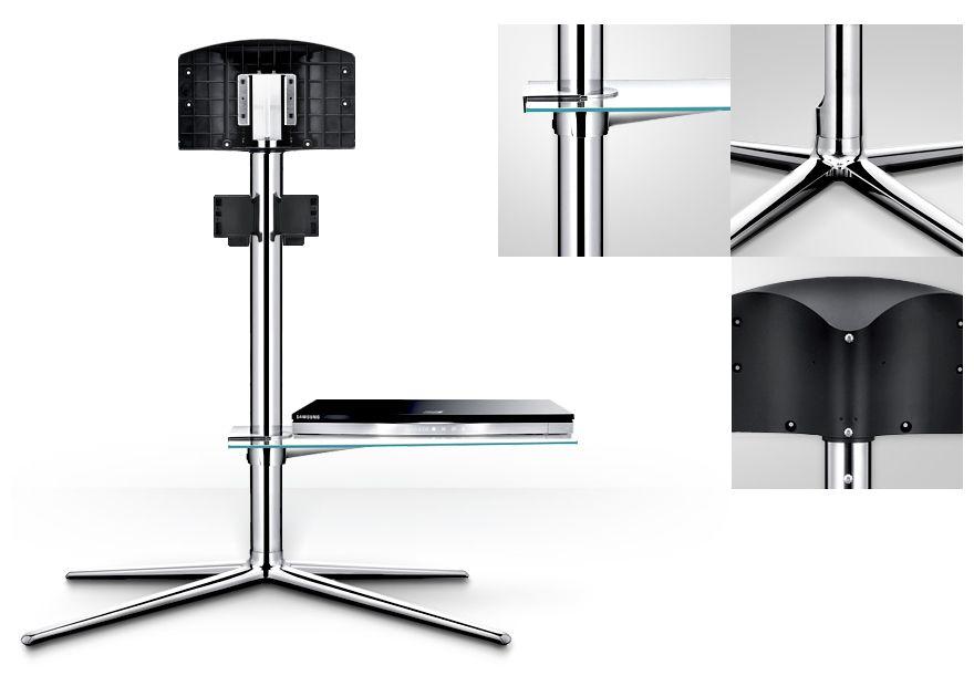 Tv Floor Stand Caracteristiques Samsung Naos