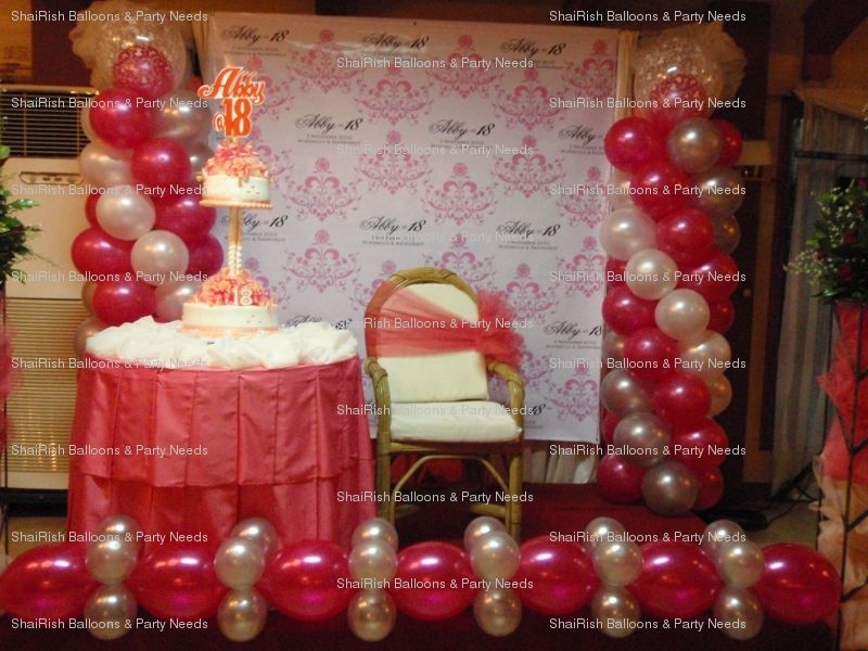 Pin by ShaiRish Balloons Party Needs on 18th Birthday Pinterest