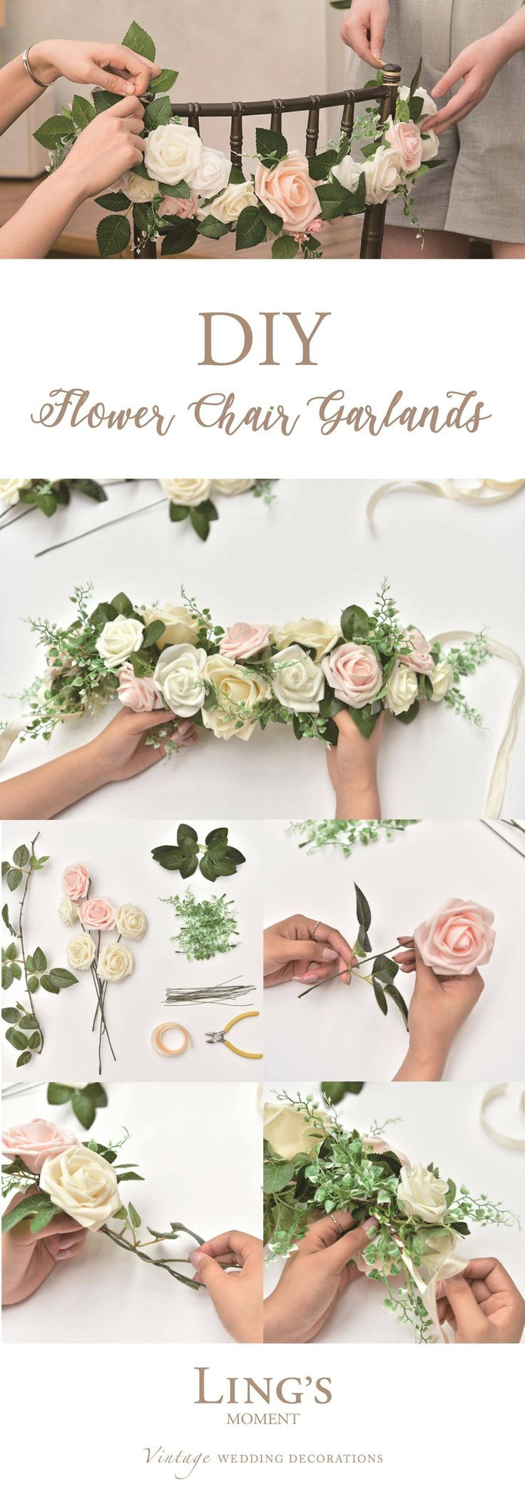 Diy flower decorations wedding   Colors Real Looking Artificial Roses  Roses   Floral