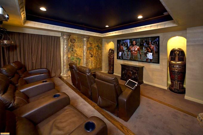Home Theater Designs by Top Interior Designers: FDS | Home Ideas ...