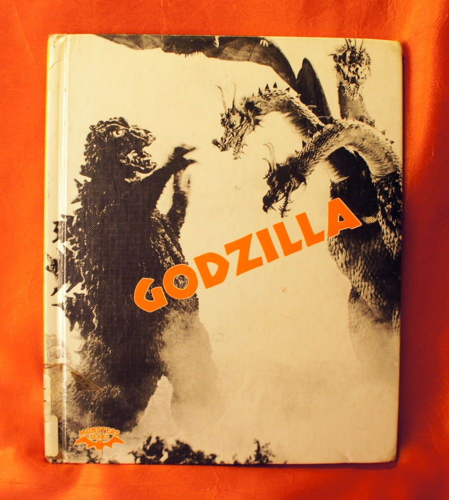 Godzilla hardcover Book Crestwood House Monster Series Ian Thorne ...