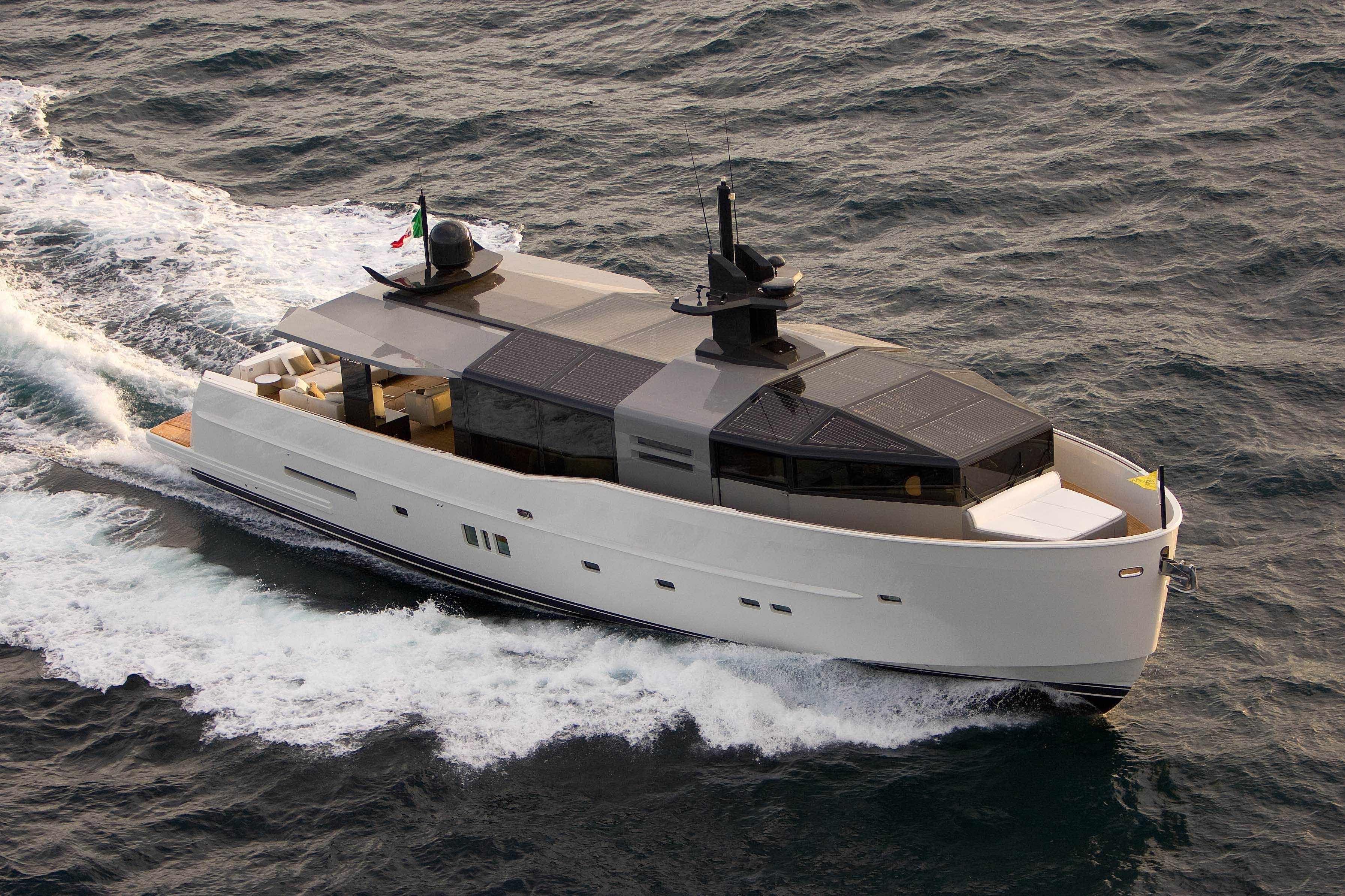 Arcadia 85 yacht by arcadia yachts yachtcharterboats