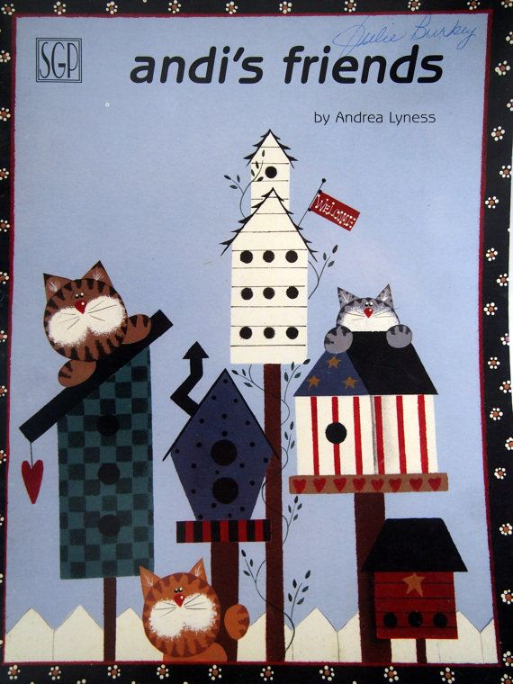 Andi's Friends By Andrea Lyness-Robers Tole And by NeedANeedle