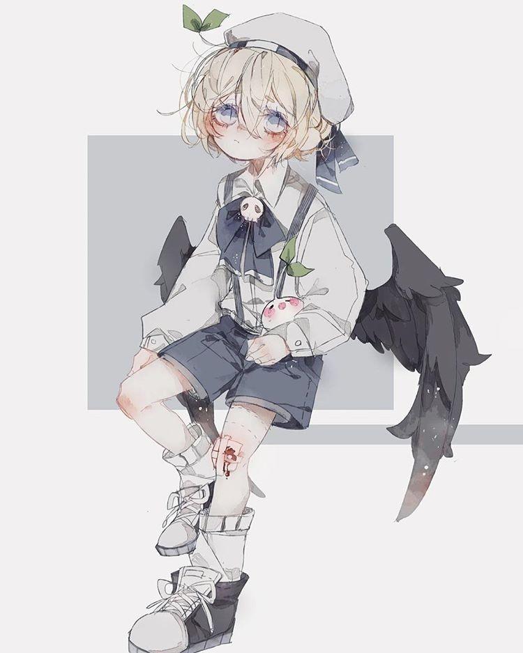 B咚 En Instagram Friend S Oc In 2020 Cute Anime Character Anime Chibi Cute Anime Boy