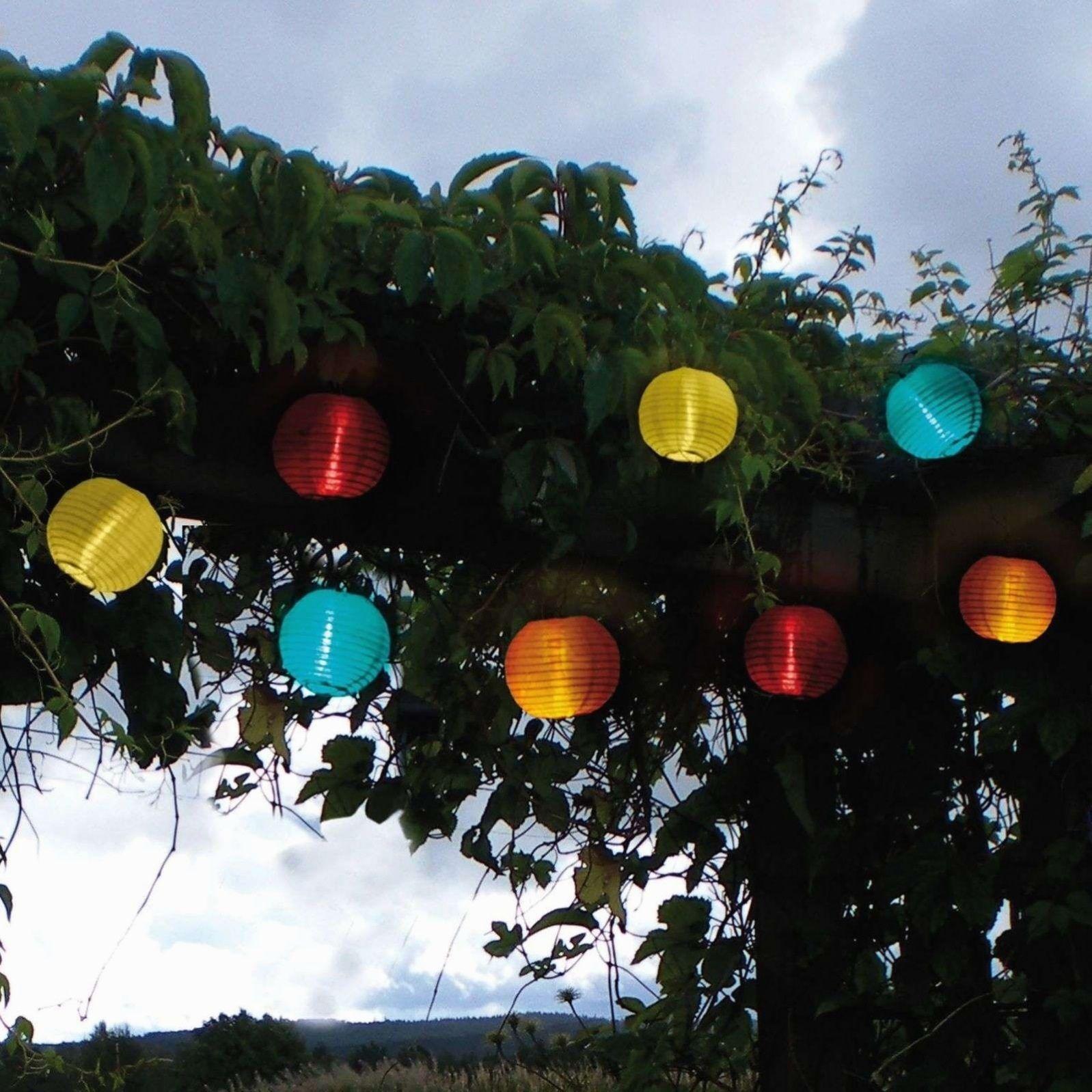 Kostenlose Rucksendung Tagen Andern Davis Lichterkette Led Lampions Bunte Ob Fur Die Nachste Grillparty Oder Zum Entspannen In 2020 Solar Licht Led Led Lichterkette