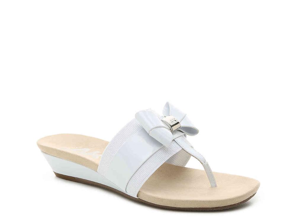 Anne Klein Sport Impeccable Wedge Sandal Women's Shoes