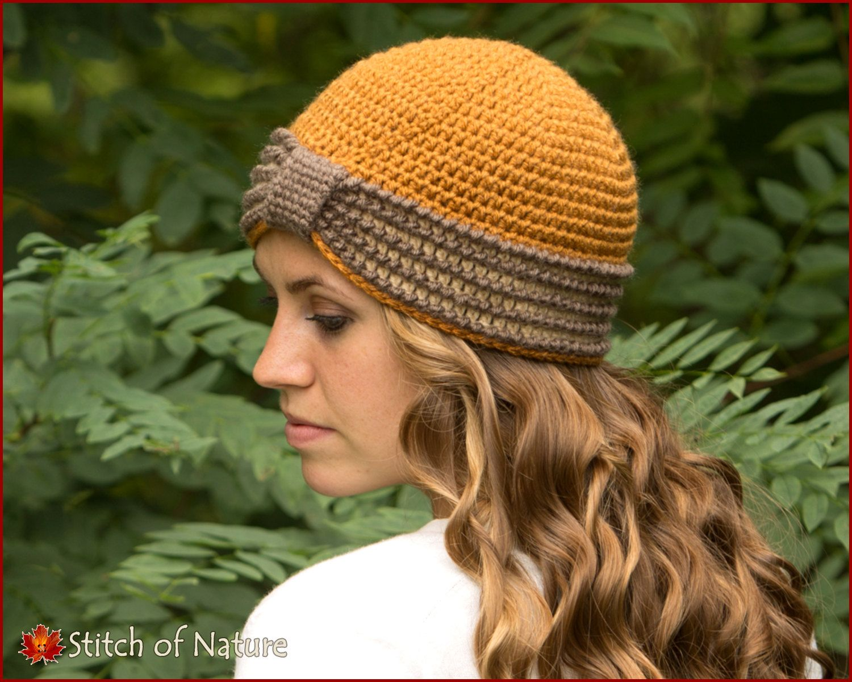 Crochet pattern the eleanor turban hat 1920s hat pattern baby to crochet pattern the eleanor turban hat 1920s hat pattern baby to adult sizes girls id 16022 baditri Images