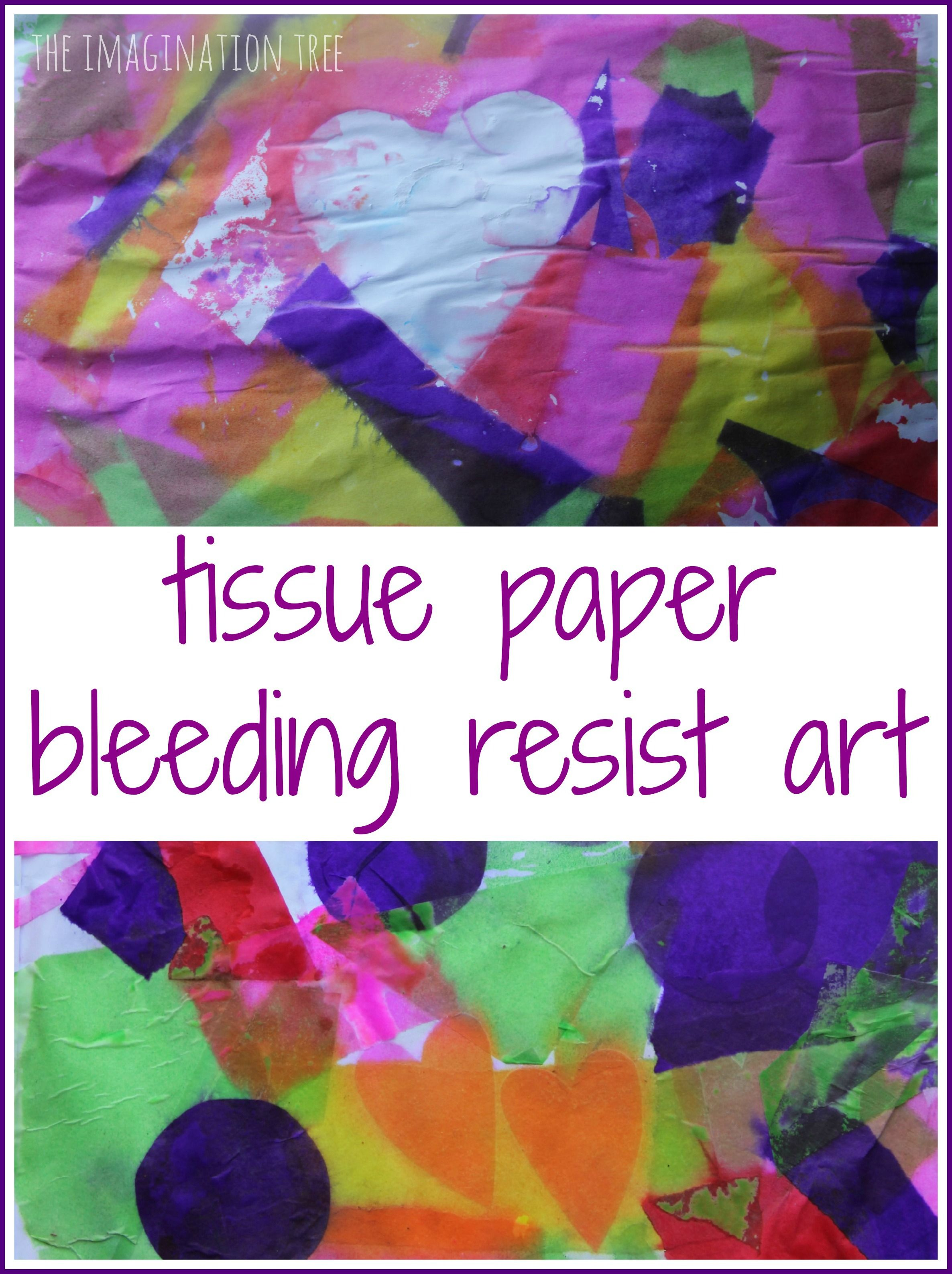 Tissue Paper Crafts: 50 DIY Ideas You Can Make With the Kids