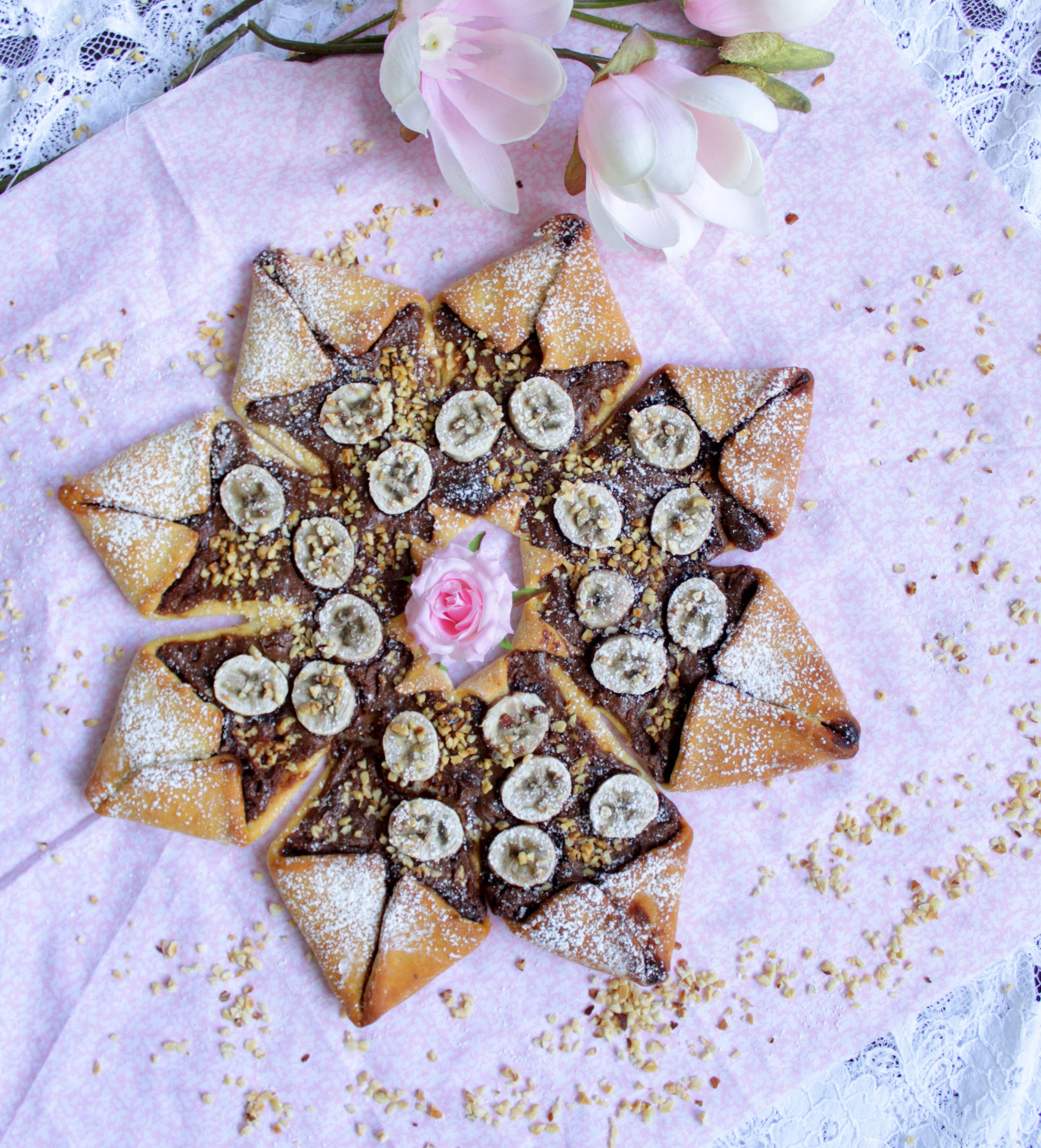 Nutella Bananen Stern Foodwithlove De Desserts Sweets