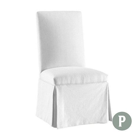 Admirable Parsons Chair Slipcover Ballard Essential Furniture Gmtry Best Dining Table And Chair Ideas Images Gmtryco