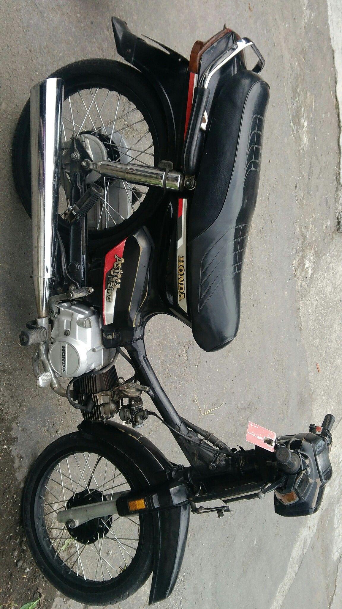 Honda Prima 100cc Tahun 1989 Custom Ori