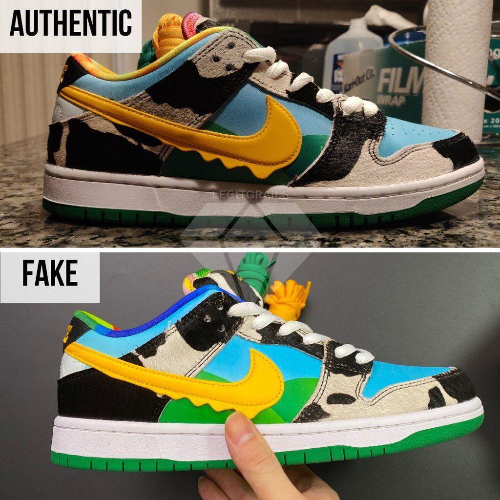 Arnaque : Comment reconnaître une fausse paire de Nike SB