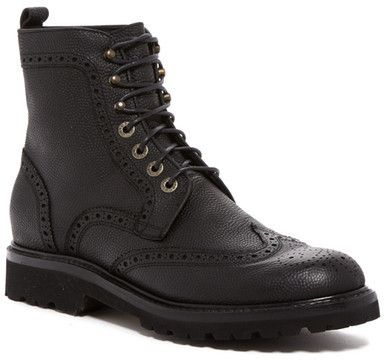 c0d9e2e64f5 Wolverine Percy Wingtip Boot   Worn   Boots, Mens winter boots, Shoes
