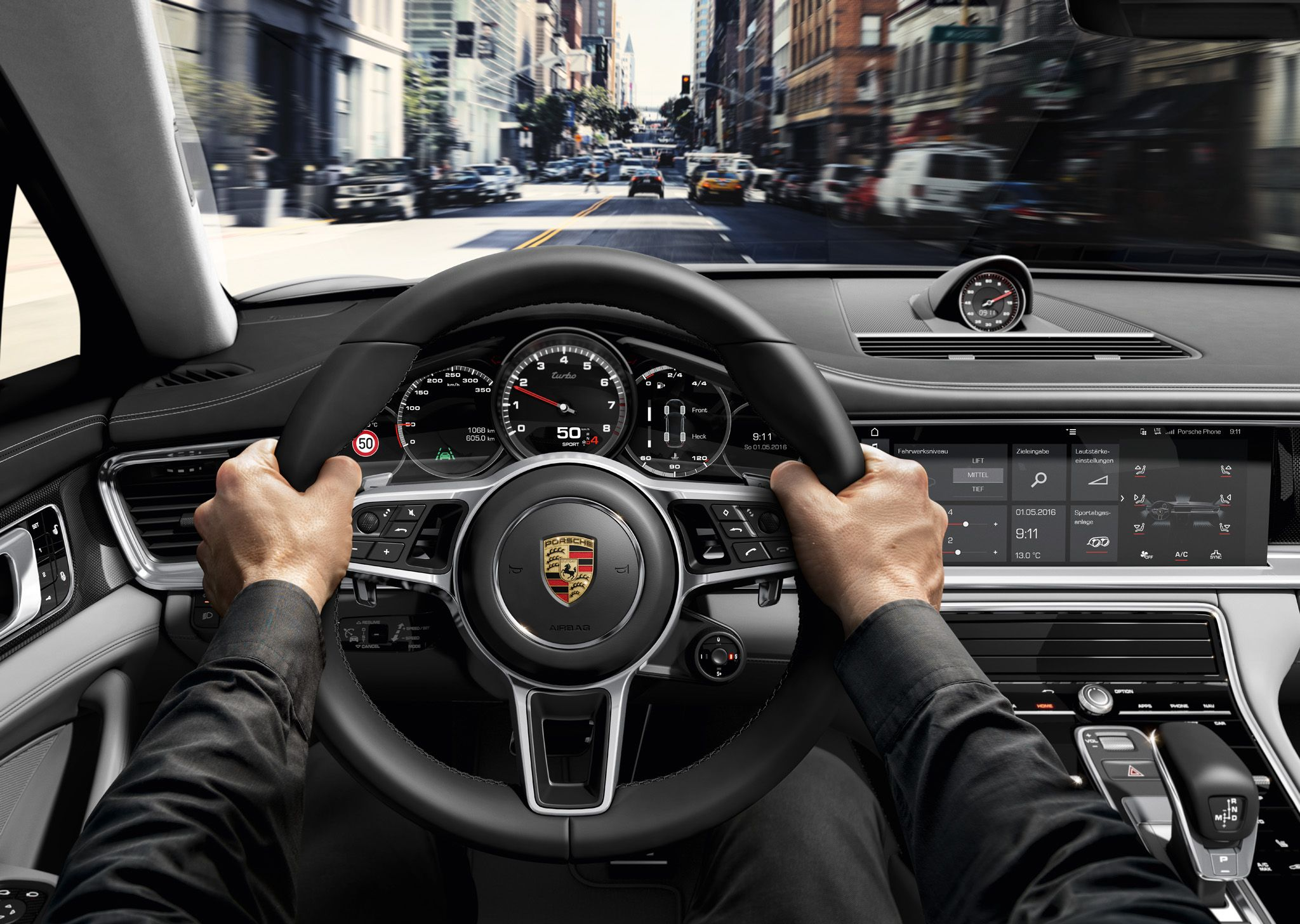 New Look Of Panamera Interior