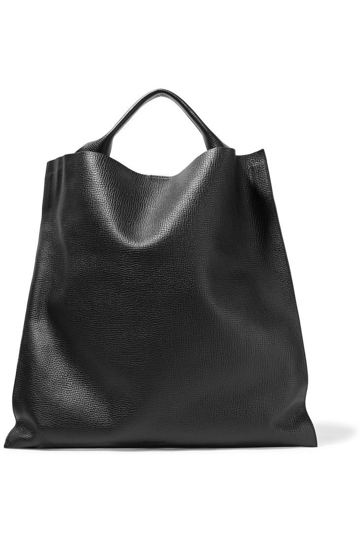 Jil Sander Textured-leather tote - branded ladies purse with price ...