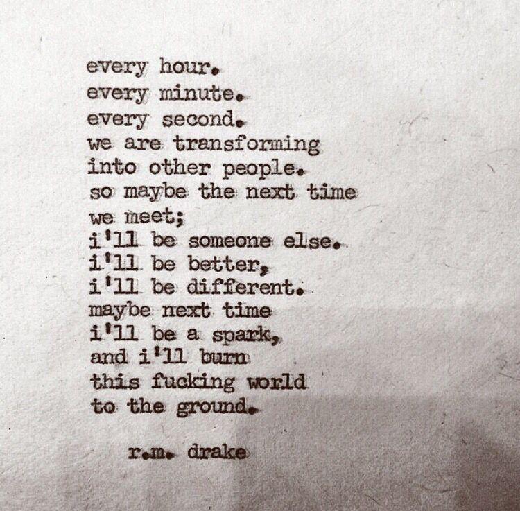 ~ R.M. Drake