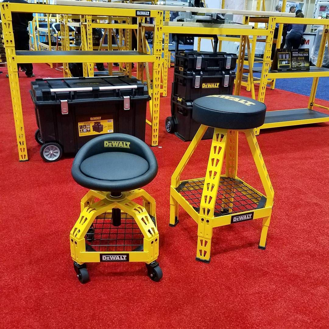 toolsbydesignNew DeWalt rolling seat, fixed seat, and bench top seat ...