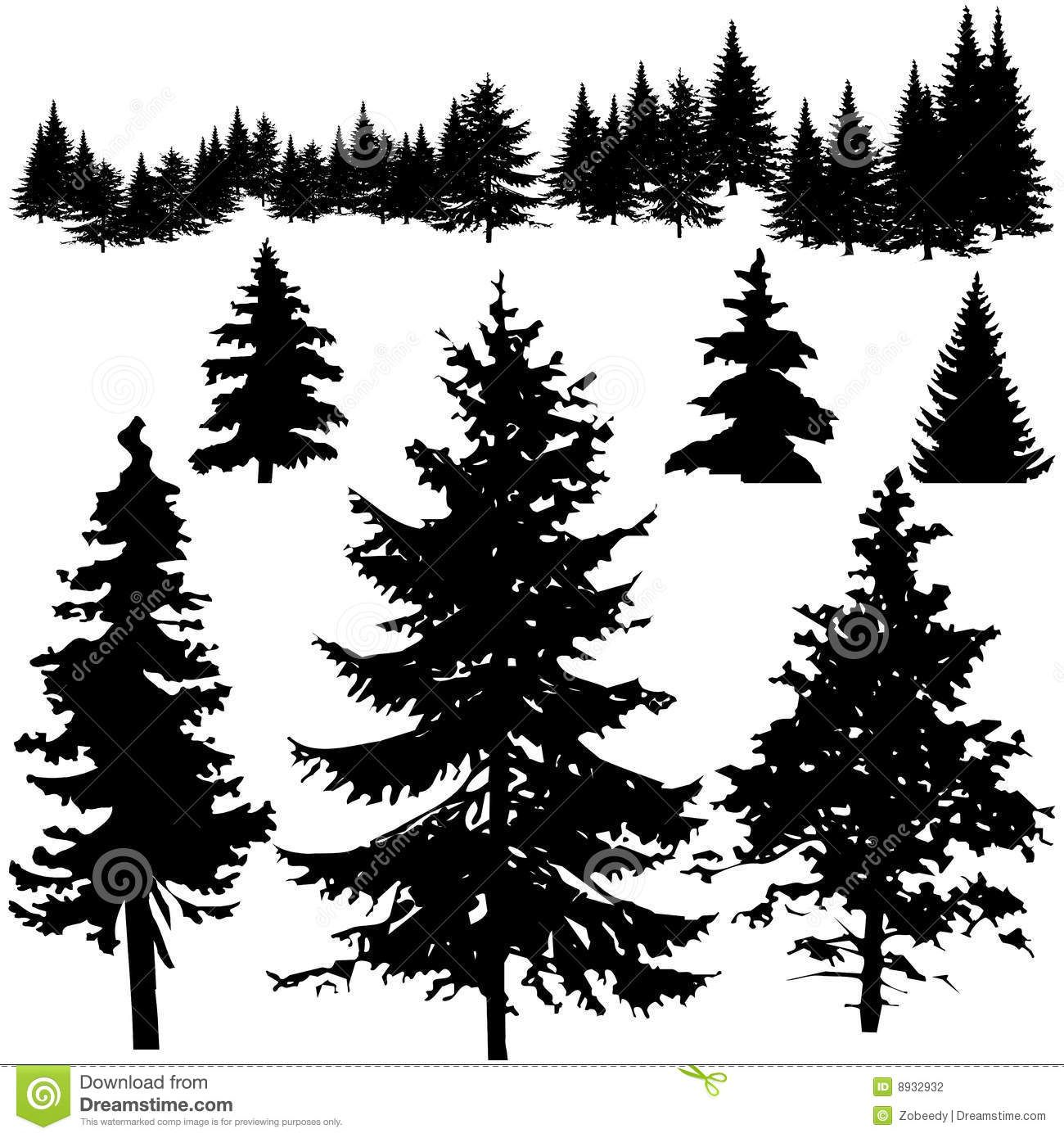 forest tree line sunset Google Search Pine tree