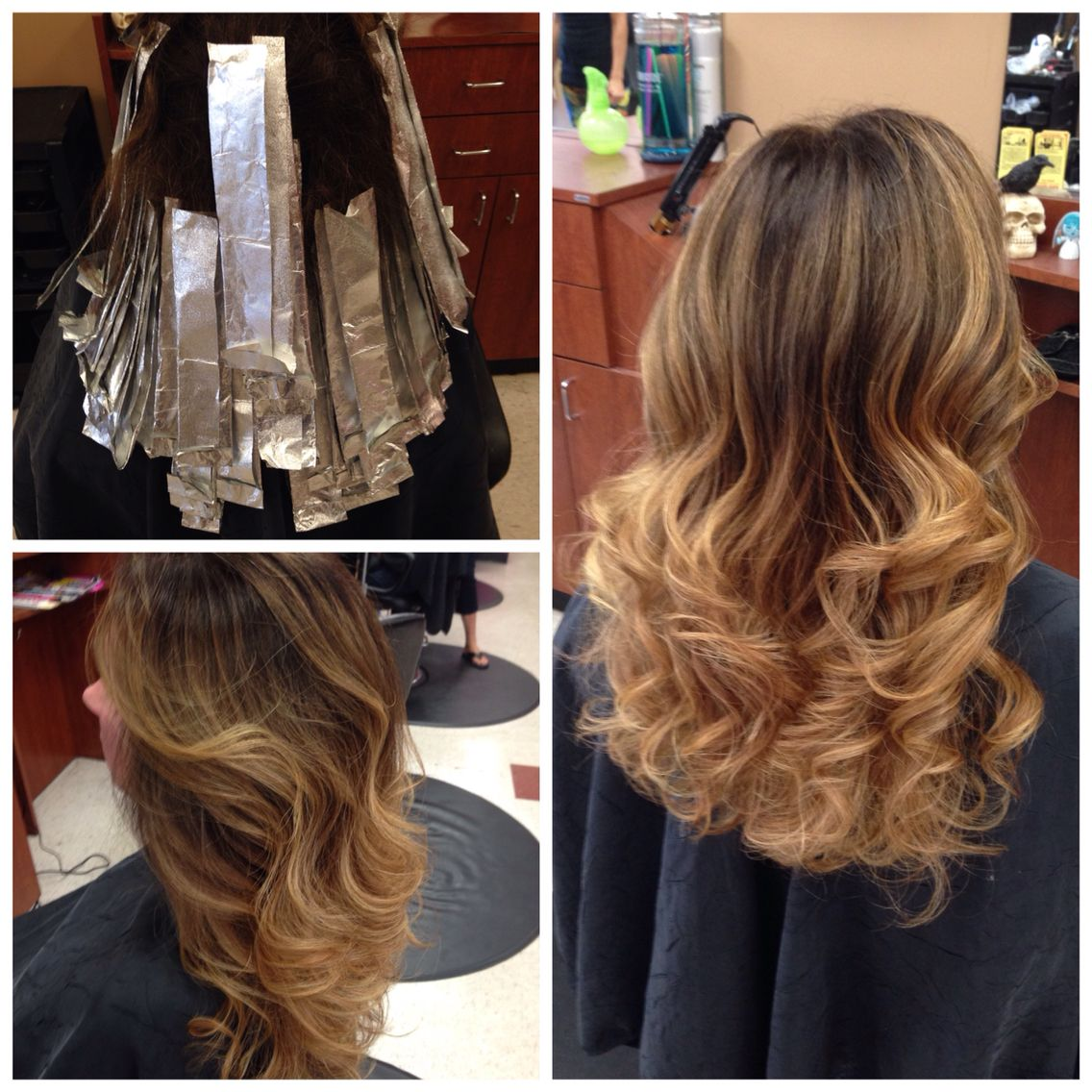 Ombre Done On My Client Today With Joico 6ng And 6nn 20 Volume On