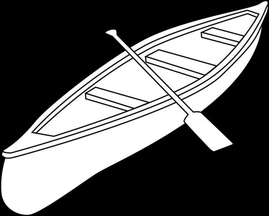 coloring pages kayak | Canoe Clipart by JZielinski | Art, Clip art, Kayak boats