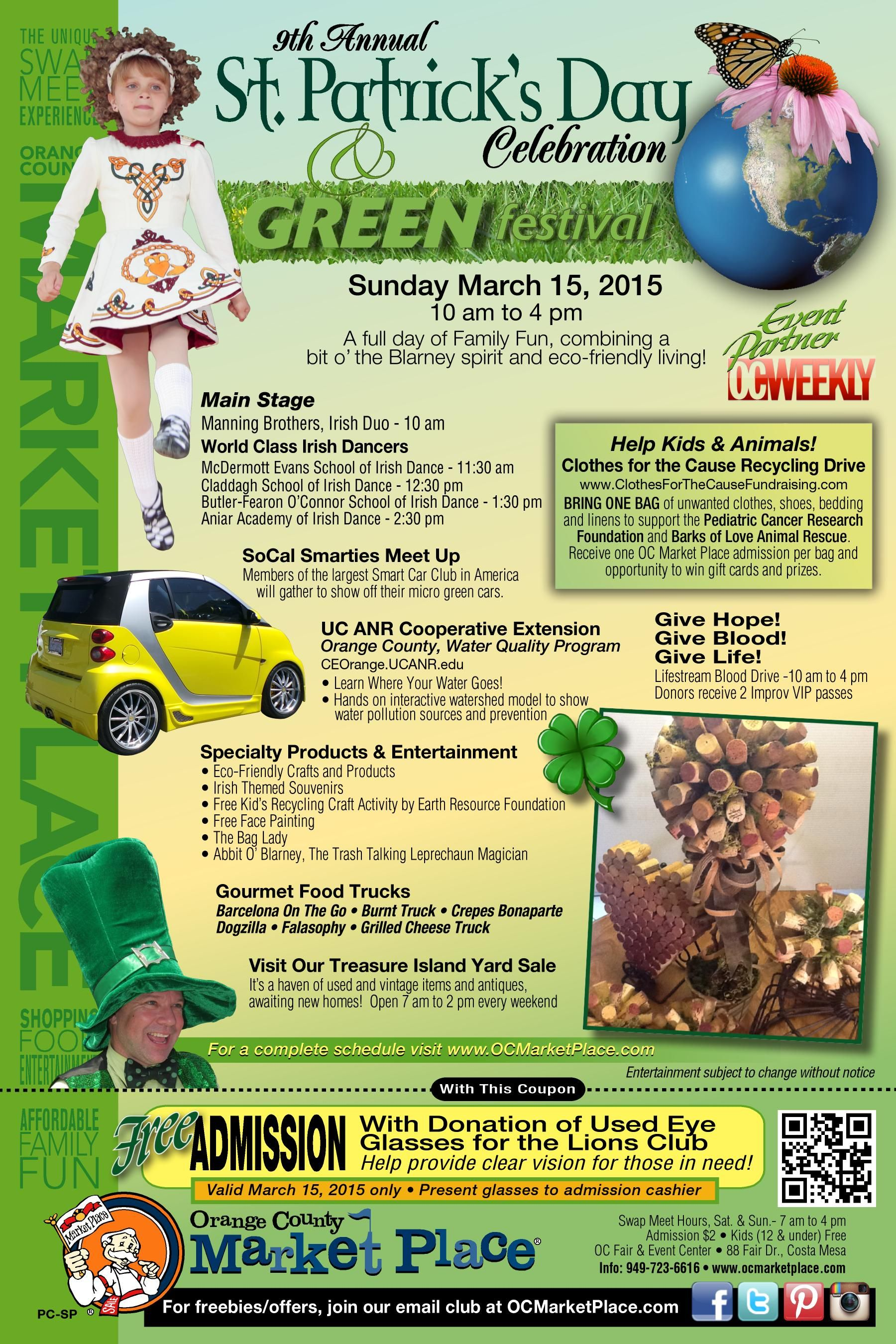 It's time to get GREEN with our green fusion event! It's