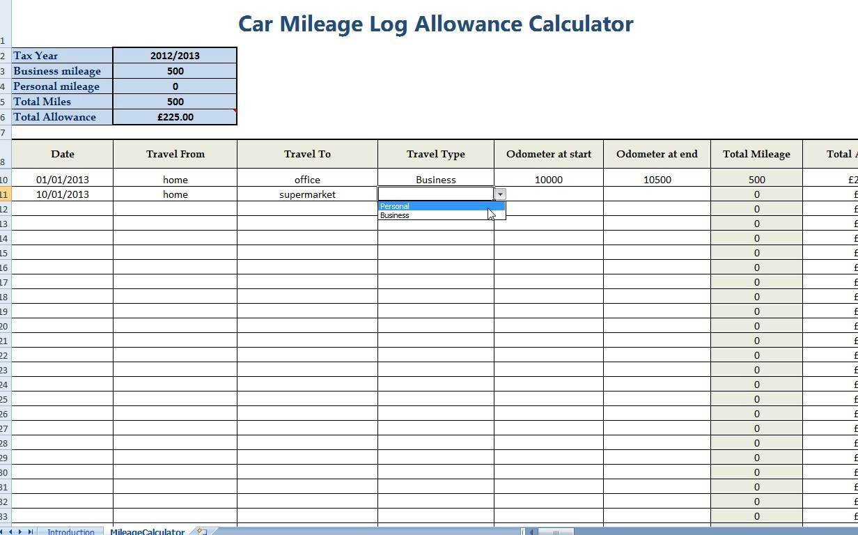 Daily Mileage Worksheet Printable Worksheets And In Gas Mileage Expense Report Template Great Cretive Templates Gas Mileage Professional Templates Mileage