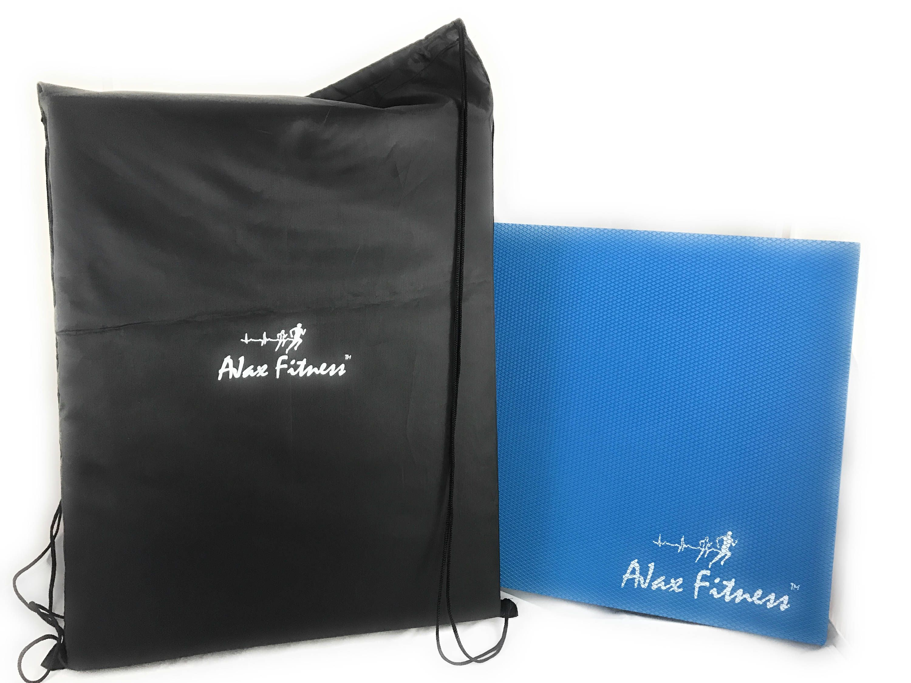 Multiuse balance pad and foam cushion with carrying bag