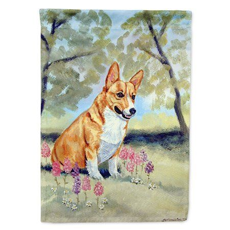 Corgi Flag Canvas House Size - Walmart.com